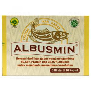 JUAL ALBUSMIN CAP 30S