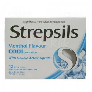 JUAL STREPSILS COOL 12S