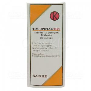 Apotek Online - TIM-OPHTAL 0.5 % EYE DROP 5ML