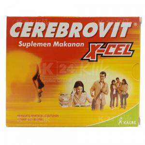 JUAL CEREBROVIT X-CEL TAB 10'S