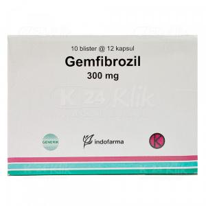 Apotek Online - GEMFIBROZIL IF 300MG TAB 120S