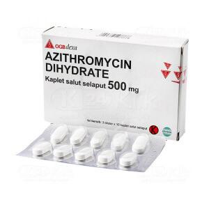 JUAL AZITHROMYCIN DEXA 500MG FC CAPL 30S