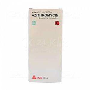 JUAL AZITHROMYCIN DEXA 200MG/5ML DRY SYR 15ML