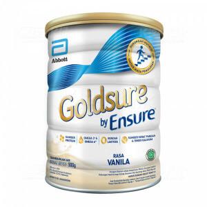 Apotek Online - GOLDSURE BY ENSURE VANILA 900G KALENG