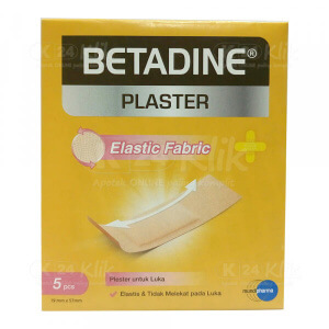 JUAL BETADINE PLASTER ELASTIC 5S AMPLOP 50S