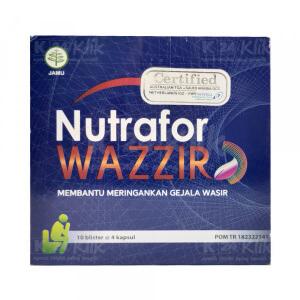 JUAL NUTRAFOR WAZZIR CAP 4S STRIP 10S