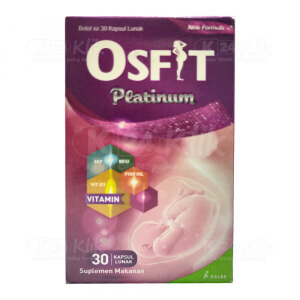 JUAL OSFIT PLATINUM SOFTCAP 30S BTL