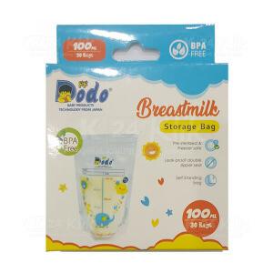 JUAL DODO BREASTMILK STORAGE BAG 100ML 30S