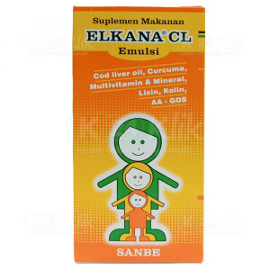 Apotek Online - ELKANA CL EMULSION ORANGE 120ML