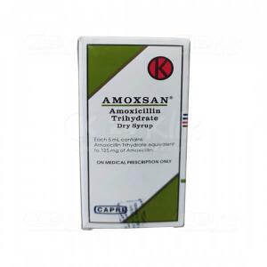 JUAL AMOXSAN D.SYR 60ML 125MG/5ML