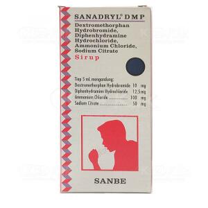 Apotek Online - SANADRYL DMP SYR 120ML