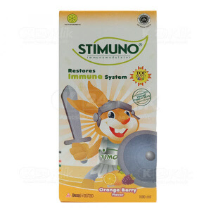 JUAL STIMUNO ORANGE BERRY SYR 100ML
