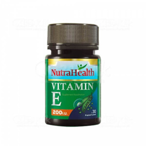 JUAL NUTRAHEALTH VITAMIN E 200IU SOFTCAP 30S BTL