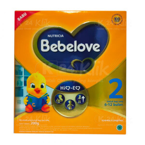 JUAL BEBELOVE 2 6-12BLN 200G BOX