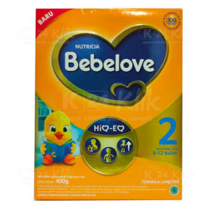 JUAL BEBELOVE 2 6-12BLN 400G BOX