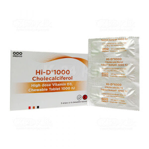 Apotek Online - HI D 1000IU CHEW TAB 30S
