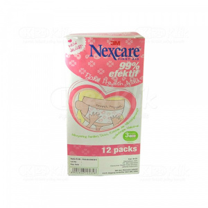 JUAL NEXCARE FLORAL HEALTH MASK 3M 12S