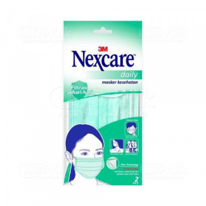 JUAL NEXCARE MASKER DAILY 3M 2S