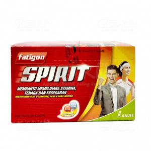Apotek Online - FATIGON SPIRIT CAPL 5S STRIP 6S