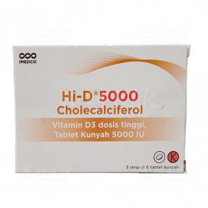 Apotek Online - HI D 5000IU CHEW TAB 30S