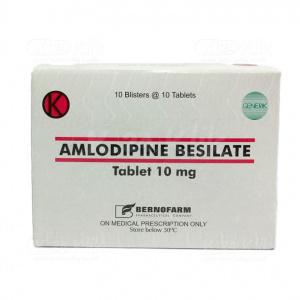 Apotek Online - AMLODIPINE BERNO 10MG TAB