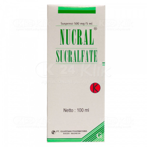 JUAL NUCRAL 500MG/5ML SUSP 100ML