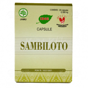 JUAL IBOE SAMBILOTO CAP 30S BTL