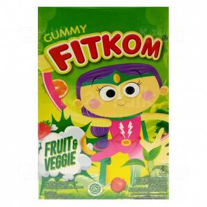 JUAL FITKOM GUMMY FRUIT & VEGGIE 12G SACH 4S