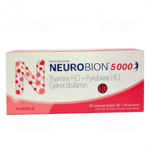 JUAL NEUROBION 5000 INJ AMPUL 20S