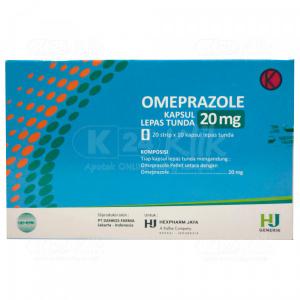 Apotek Online - OMEPRAZOLE HEXPHARM 20MG CAP 200S
