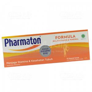JUAL PHARMATON FORMULA SOFTCAP 5S STRIP 2S