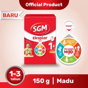 Apotek Online - SGM EKSPLOR 1 PLUS MADU 150G
