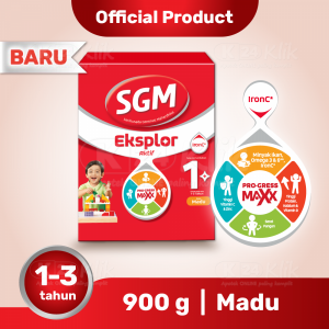 Apotek Online - SGM EKSPLOR 1 PLUS MADU 900G