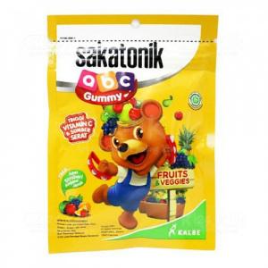 Apotek Online - SAKATONIK ABC GUMMY FRUIT VEGGIE 20G SACH 5S
