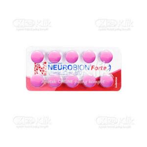 JUAL NEUROBION FORTE FC TAB 10S STRIP 10S