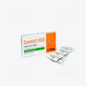 JUAL COMVIT D 1000IU CAPL 10S STRIP 3S
