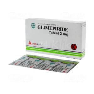 JUAL GLIMEPIRIDE DEXA 2MG TAB 50S