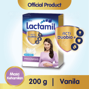 JUAL LACTAMIL PREGNASIS VANILA 200G