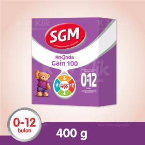 JUAL SGM ANANDA GAIN 100 0-12BLN 400G BOX