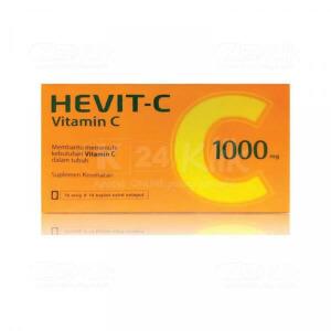 JUAL HEVIT C 1000MG FC CAPL 10S STRIP 10S