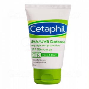 JUAL CETAPHIL UVA UVB DEFENSE SPF 50 CR 50ML