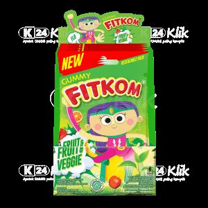 JUAL FITKOM GUMMY FRUIT & VEGGIE 21G SACH 5S
