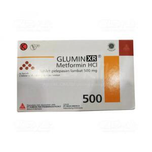 JUAL GLUMIN XR 500MG TAB