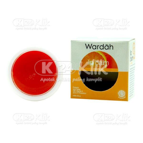 Apotek Online - Jual WARDAH LIP BALM ORANGE 6,5G
