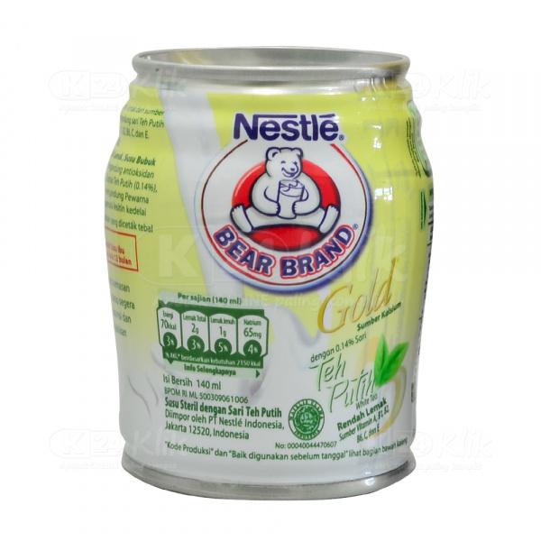 Bear Brand White Tea 140ml Manfaat Dosis Efek Sa